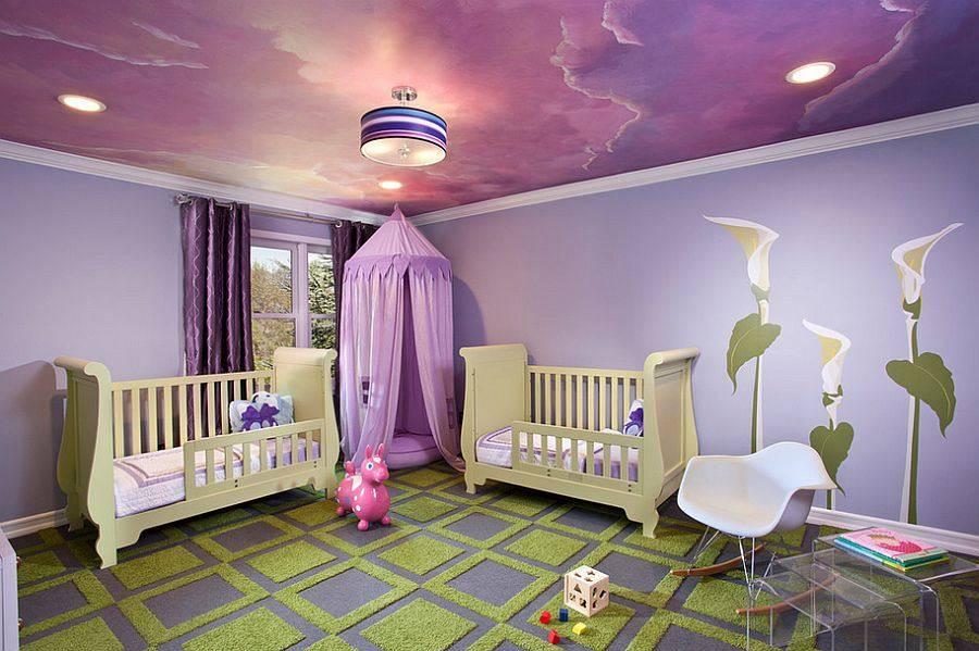 Cum decorezi tavanul din camera copiilor 1