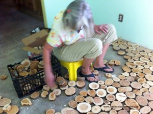 Rondele de lemn